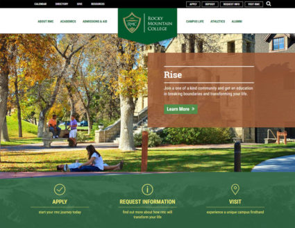 Rocky Mountain College website
