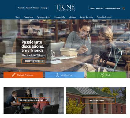 Trine University website